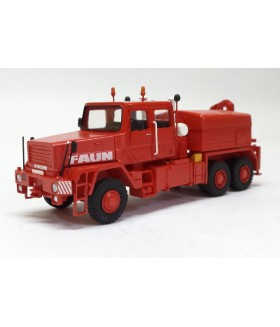 HO 1/87 FAUN HZ 40.45/45W 6X6 WITH CRANE - 1982 - High Quality Resin Model Built by Fankit Models