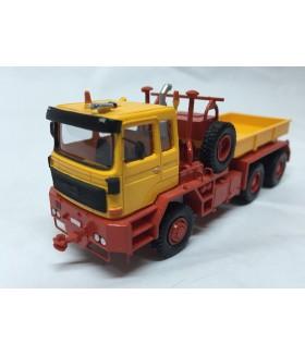 HO 1/87 Faun FZ 40.45/45 6x6 - 1984 - UdSSR - High Quality Resin Model Built by Fankit Models
